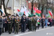 В Ошмянах отпраздновали 76-ю годовщину Великой Победы