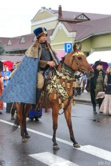 Торжественное шествие на юбилее города